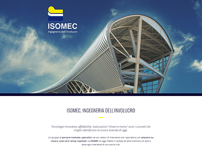 ISOMEC // Website