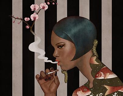Flower Cigarette Series