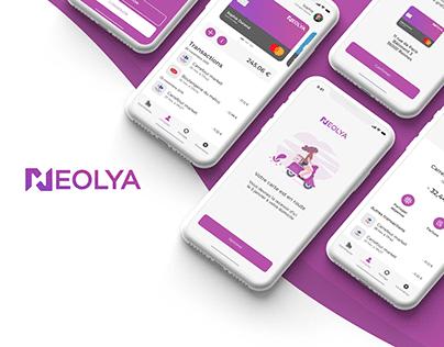 Neolia - IU/UX concept