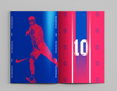 Paris Saint Germain Projects Photos Videos Logos Illustrations And Branding On Behance