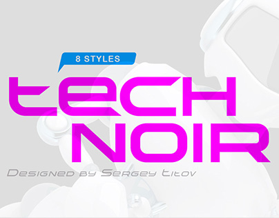 TechnoirSST Typeface