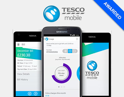 Tesco Mobile - SelfCare Mobile App