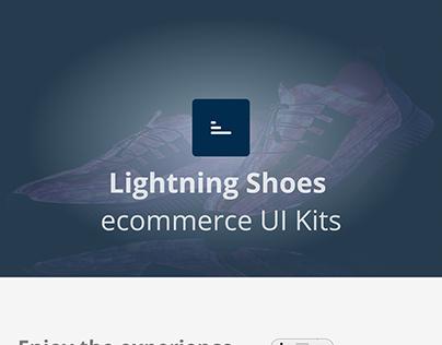 Lightning Shoes - E commerce UI Kits