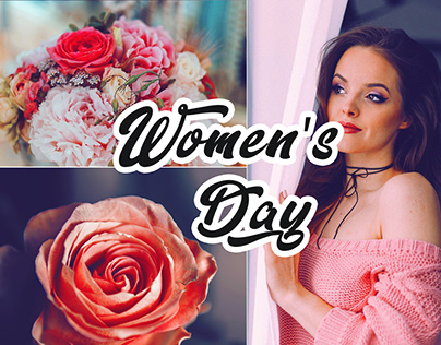 Womans Day Photoshop Action