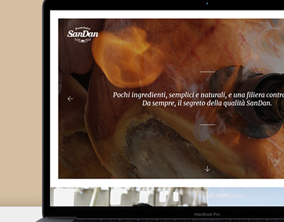 SanDan Prosciutti | Website | Milk Adv