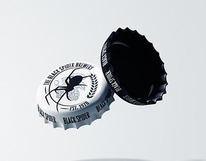 The Black spider logo
