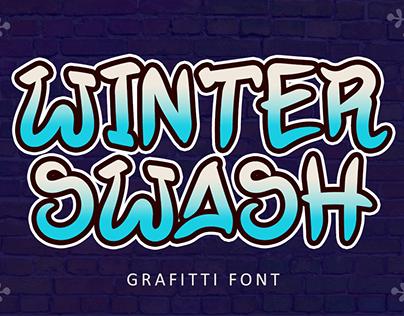 Winter Swash - Graffiti Font