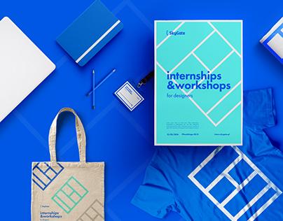 Internships & workshops { UX & Web Design