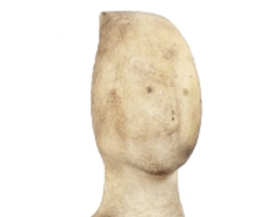 Cycladic idol from Sadigh Gallery collection