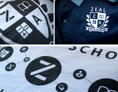Zeal Logo Refresh & Print Designs (2014-2015)