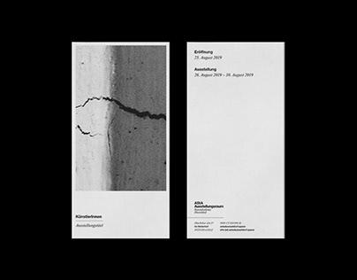 Visual Identity for AStA Ausstellungsraum Düsseldorf