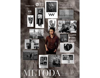 Poster for an exhibition at Gdańska Galeria Miejska