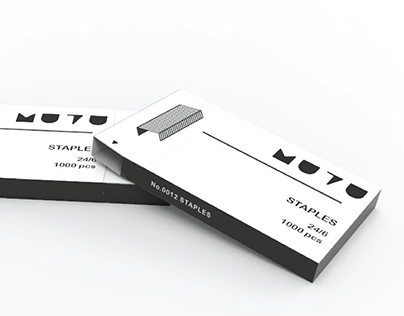 Staple Strip Dispenser (Packaging Design)