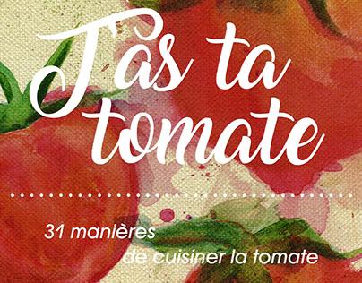 5° Pub - Couverture Livre Tomate
