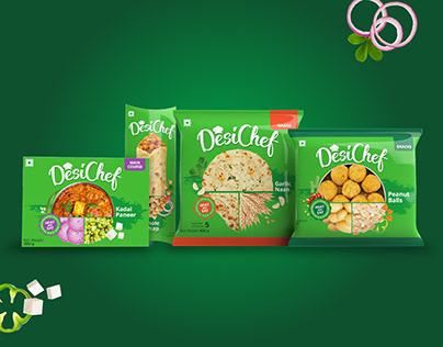 Brand & Packaging Design for Frozen Food