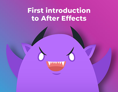 First introduction to After Effects, Animation