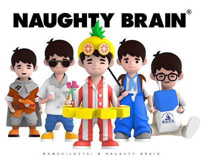 Art Toy-NaughtyBrain X 刘昊然 X Momchilovtsi Collaboration