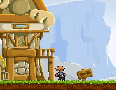 Prototype - pixel platforms game