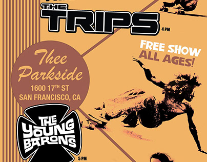 Trips Gig Poster