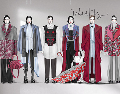 Identity - aw 21-22 Fashion Design Project - Collection
