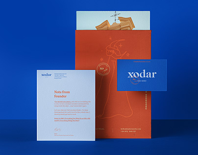Xodar Olive Oil -Visual Identity and Packaging