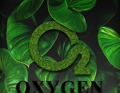 Oxygen Island Social Media designs