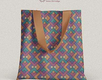 Pattern Series - DG índigo #04