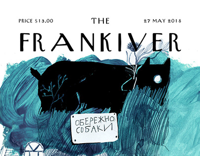 Cover for The FRANKIVER