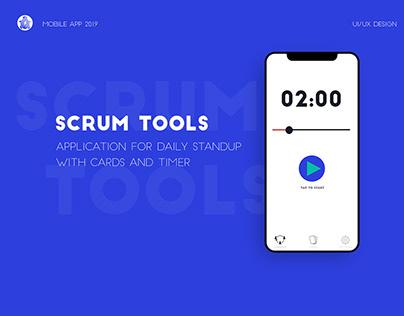 Scrum Tools. Mobile App