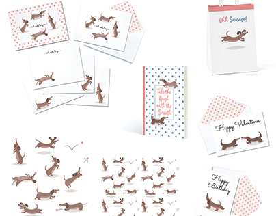 Sausage Dog Greetings and Gift Collection