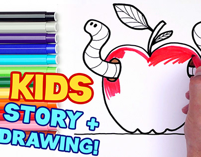 I Love Drawing | Drawing & Stories for Kids