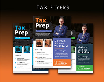Tax Flyers Design