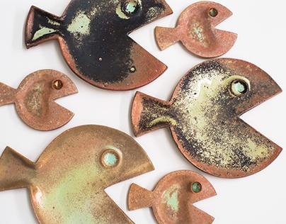 Ryby ceramiczne