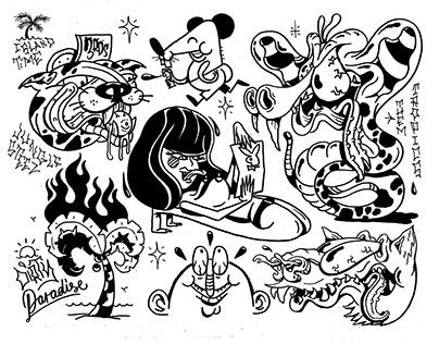 New Tattoo Flash/Illustration