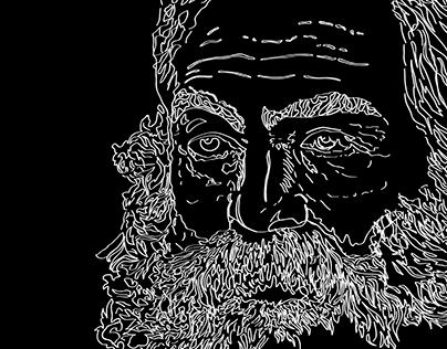 Walt Whitman T-shirt Design