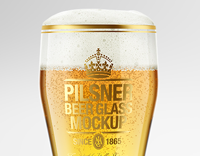 Beer Glass Mockups