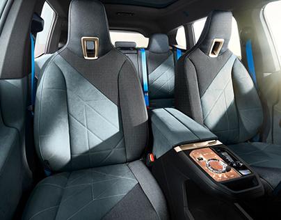 BMW iX Seat Design