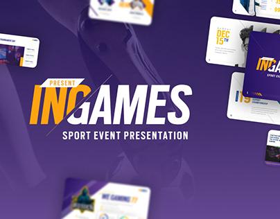 Free Sport & Games PowerPoint Presentation Template