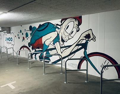 Mural - Jimdo Bikepark