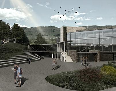 Project of tourist centre