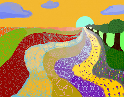 The winding paths