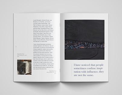 Gallery Exhibition Booklet