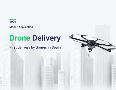 Drone Delivery - design application