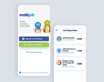 Android App MOBIJOB