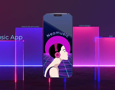 Neomusic— Music Player App