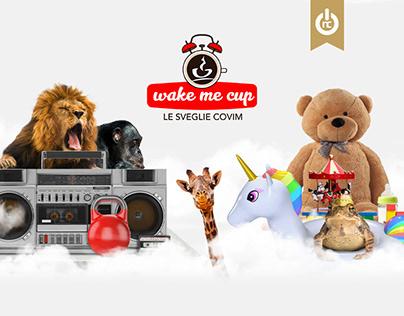 Wake me Cup - Le sveglie Covim