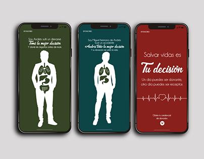 Campaña Donación de Órganos
