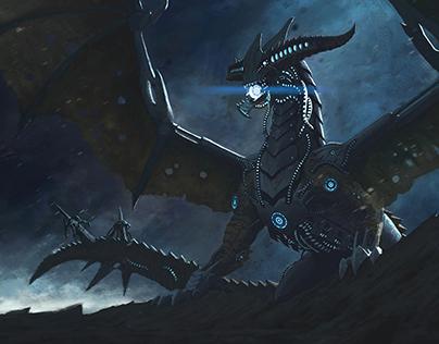 """Dragon Reaper"" - Mass Effect & Dragon Age mash-up"