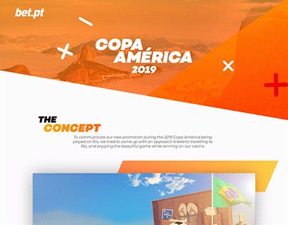 Copa América 2019 - Image Compositions