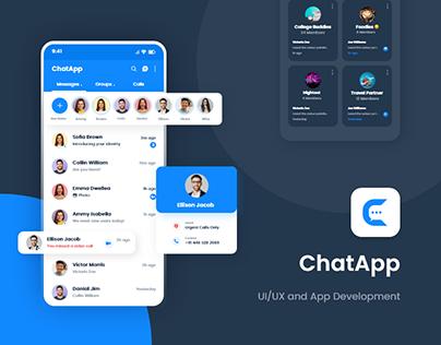 ChatApp Application UI/UX - Teksun